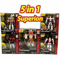Transformation G1 Superion IDW 5 IN 1 Sets KO War Oversized Action Figure Toys