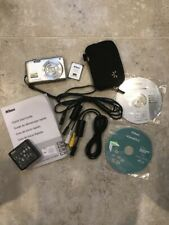 Nikon Silver COOLPIX S3300 16.0 MP Digital Camera w/accessories