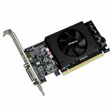 Nvidia Geforce GT710 GV N710D5 2GL 2 Go GDDR5 PCI Exprimer Carte Graphique Noir