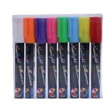 New Chalk Markers Chalkboard Erasable Dustless Water-Based Liquid Pens Set