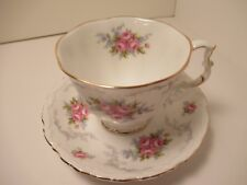 "ROYAL ALBERT ENGLISH CHINA  CUP & SAUCER  ""TRANQUILLITY"" PRE OWN"