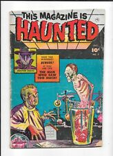 THIS MAGAZINE IS HAUNTED #7 ==> VG PRE-CODE HORROR'S FINEST! FAWCETT COMICS 1952