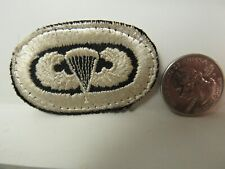 Post WWII US Army Airborne Medical Battalion w/ Embroidered Wings ET, Oval Patch