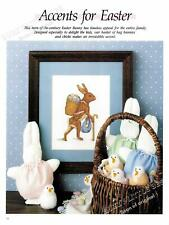 Cross Stitch Pattern~Easter Bunny~Anthropomorphic~Wal king~Cs341