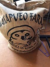 5 lbs HAWAII KONA MAKAPUEO FRESH CROP ORGANIC UNROASTED BULK GREEN COFFEE BEANS