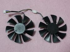 85mm Zotac GTX1070 MINI Dual Fan Replacement 42mm 4Pin GFY09010E12SPA 0.5A R219