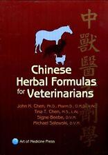 Chinese Herbal Formulas for Veterinarians (2012) by John Chen, Tina Chen