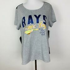 Tampa Bay Rays Baseball Touch By Alyssa Milano Women's Shirt Size Large