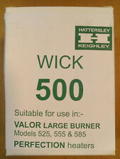 PERFECTION 500 Valor 525 Wick Barler, Boss, New Process, Nesco