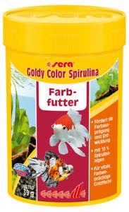 Sera Goldy Color Spirulina, 100 ML