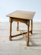 Kleiner antiker Beistelltisch Konsole, Tisch in massiver Eiche, England ca. 1920