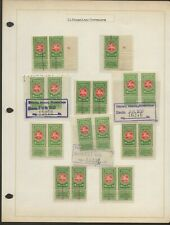 Lithuania Revenue Stamp Collection