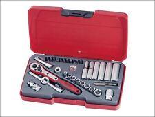 Teng Tools 1/4in Drive 35 Piece AF Socket & Accessory Set T1435AF
