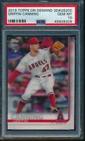 2019 Topps On Demand 3D #US200 Griffin Canning RC PSA 10 Gem Mint Rookie SP /540