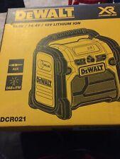DEWALT 18V DCR021 DAB+ / FM CORDLESS SITE RADIO - BRAND NEW!
