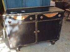 Vintage/Retro Wood Veneer Sideboards & Buffets with Drawers