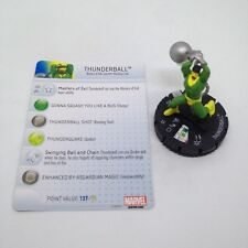 Heroclix Invincible Iron Man set Thunderball #039 Rare figure w/card!