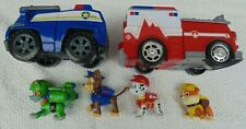 PAW PATROL Figures and vehicles Lot, Bundle. FREE UK Delivery
