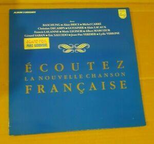La Nouvelle Chanson Française Double 33t BASHUNG/Gotainer/LALANNE/Ch. Decamps