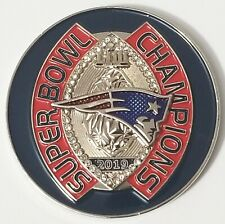 2019 NFL Football Super Bowl Champions New England Patriots Coin (non NYPD)