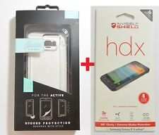 New OEM Sonix Active Clear Case+Screen Protector For Samsung Galaxy S6 Active