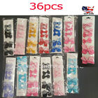 36pcs Baby Girl Kid Grosgrain Ribbon Boutique Hair Bow Alligator Clip Pin Lots