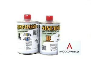 Sintafoam 1.1 Prochima Resina poliuretanica da stampaggio 1 kg modellismo Bicomp