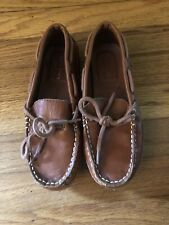 Cole Haan Boys Grant Driving Loafer 3 Leather
