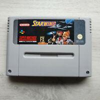 Starwing SNES Super Nintendo PAL Game Retro Space Battle