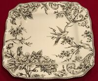 "222 Fifth Adelaide Silver Electroplate 10 7/8"" Square Dinner Plate C9 EUC"