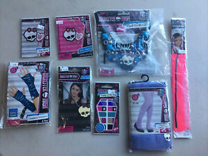8 Pc Monster High lot Of Accessories For Girls