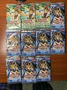 Yu-Gi-Oh! Spell Ruler SRL & Dark Crisis DCR 11 Sealed Booster/Blister Packs