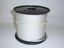 100m (€0.45/m) Nylonseil Polyamidseil weiß Durchmesser 6 mm Bruchlast 575 daN