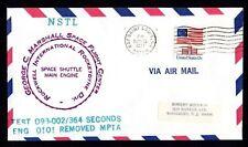 Estados unidos NSTL Space Shuttle Main Engine, test 093-002/364 Seconds