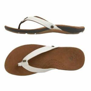 Reef Miss J-Bay Women Toe Separator | Toe Gripper | Flip flops | Leather - NEW