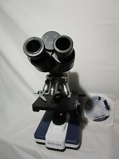 Amscope B120 40x 100x Led Lab Binocular Compound Microscope From Estate