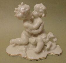 HUTSCHENREUTHER Art Deco TUTTER KISSING PUTTI Angels Children Nude BOYS FIGURINE
