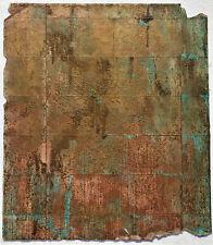 CHARLES CHRISTOPHER HILL Original UNIQUE Handmade Monoprint with goldleaf