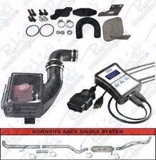 """Autocal Tuner 5"""" Exhaust EGR Delete & Intake 07.5-10 GM 6.6L LMM Duramax Diesel"""