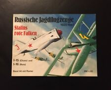 Waffen Arsenal Band 44 Russische Jagdflugzeuge Stalins rote Falken ohne Poster