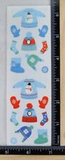 Mrs Grossman WINTER GEAR Stickers WINTER CLOTHES SNOW FUN