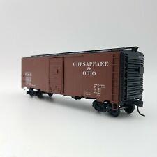 HO Scale Branchline Yardmaster 8003 C&O 40' Steel Box Car 3212