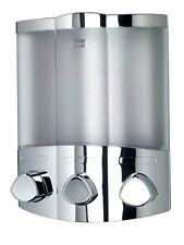 Croydex, Dispenser sapone Euro Trio- Chrom (M9K)