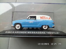 SIMCA ARONDE MESSAGERE NESTLE  IXO 1/43 I26