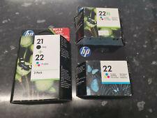 HP 21 22 Printer Ink Cartridges For HP Deskjet F4180 F2180 F2280 HP 21 22XL