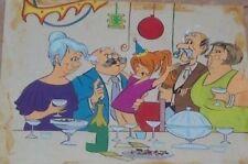 1972 FRANCISCO MAZZA ORIGINAL ART SKETCH PATORUZITO ARGENTINA