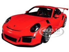 PORSCHE 911 (991) GT3 RS LAVA ORANGE 1/18 MODEL CAR BY AUTOART 78168