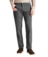 $300 Men's BRAX Cooper Fancy Five Pocket Wool Pants  - Grey - Sz 31 X 36