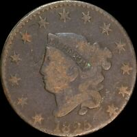 1825 Coronet Head Large Cent, Nice Collectors Coin