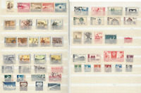 1950s-1960s CHINA STAMP LOT WITH SHORT SETS, NO DUPLICATES